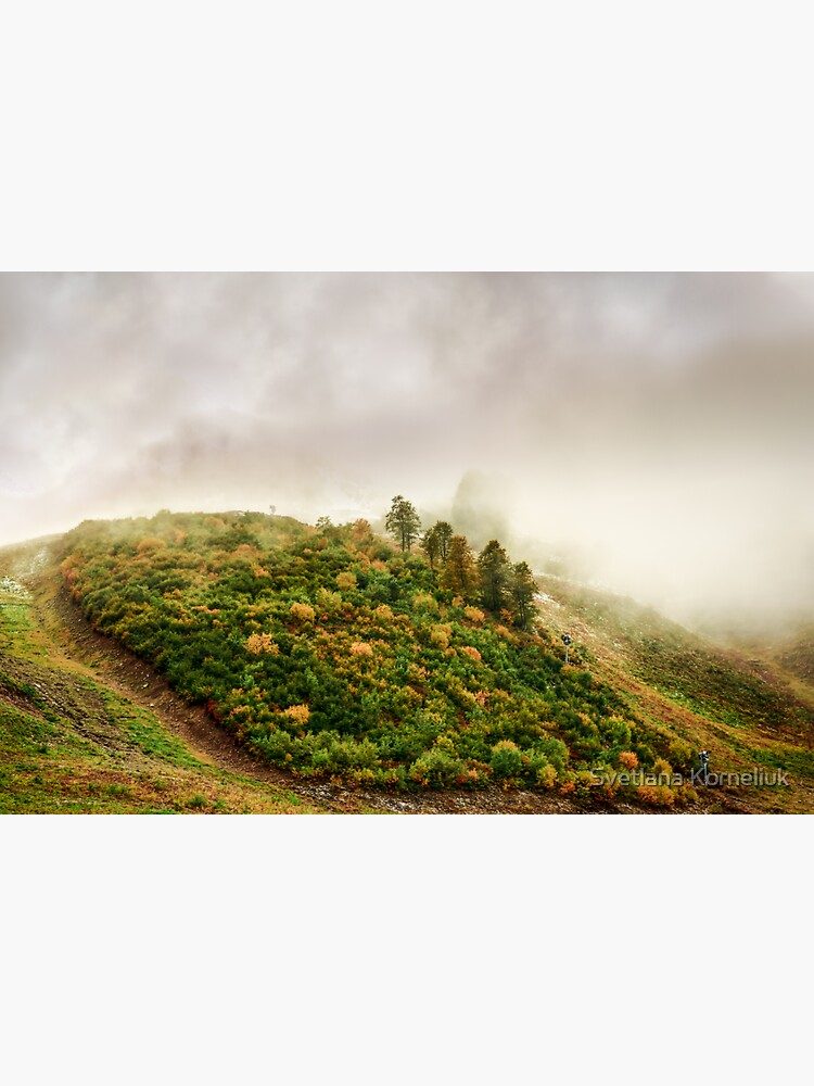 Autumn valley in the cloud by SvetlanaKorneli
