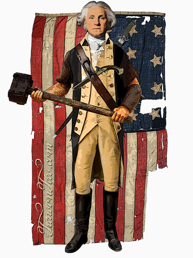 George Washington by CamelotDaily