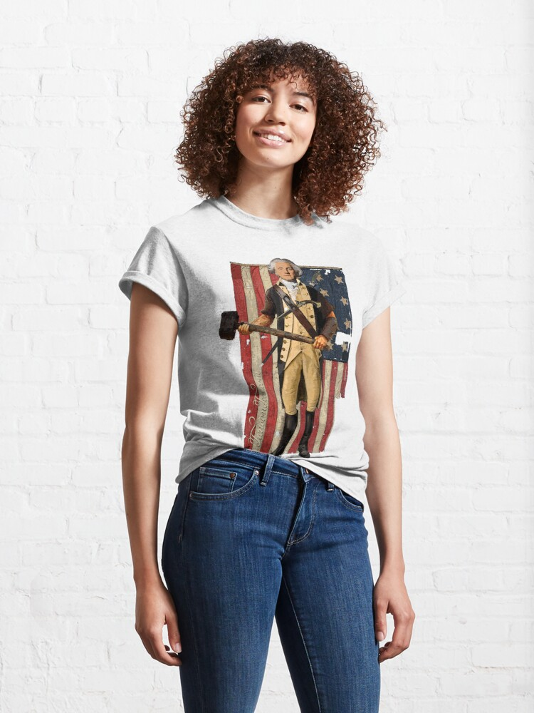Alternate view of George Washington Classic T-Shirt
