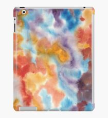 Hand painted abstract watercolor texture iPad Case/Skin