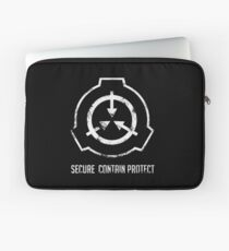 SCP: Secure. Contain Protect Laptop Sleeve