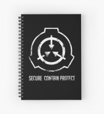 SCP: Secure. Contain Protect Spiral Notebook