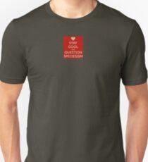 Question Speciesism T-Shirt