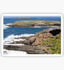 Admirals Arch on Kangaroo Island,South Australia Sticker
