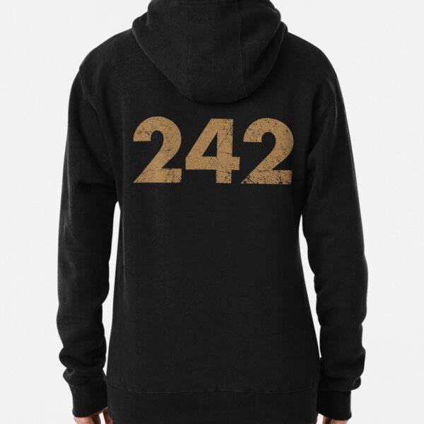 Two Four two Brown Pullover Hoodie