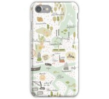 Hamburg Map iPhone Case/Skin