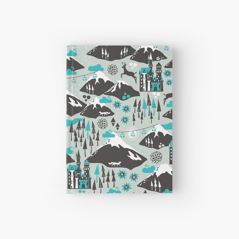 The Alps Hardcover Journal