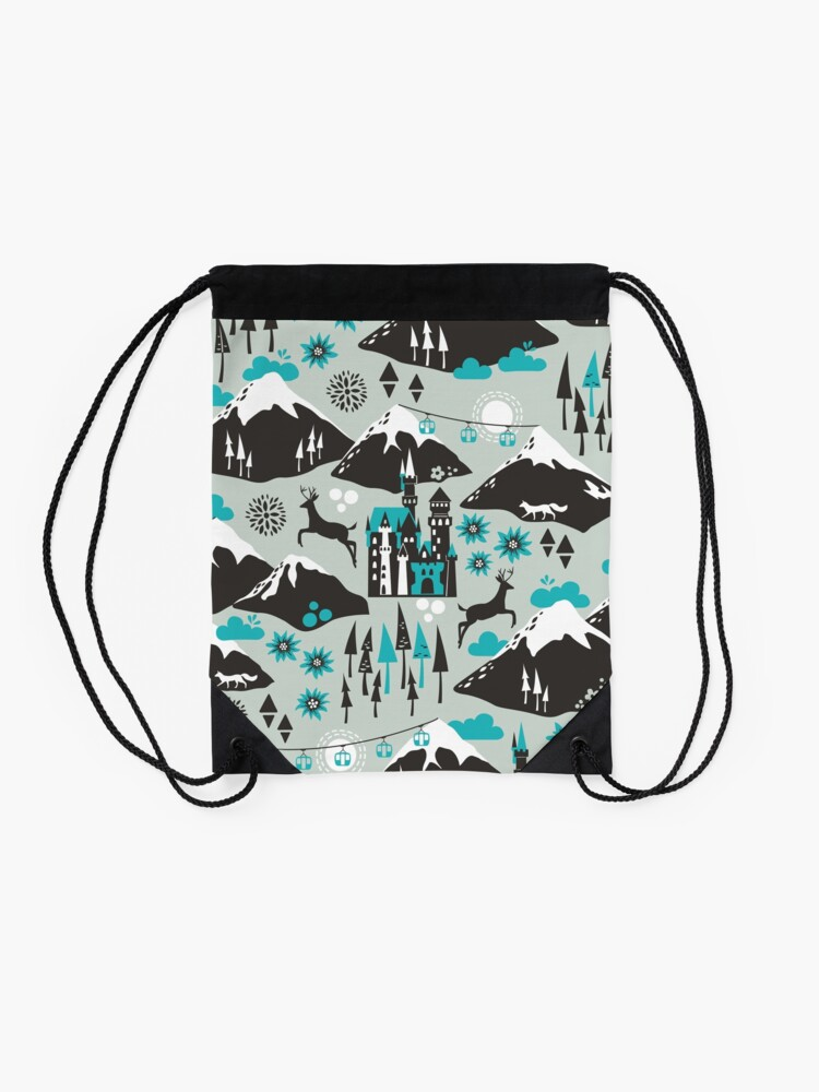 Alternate view of The Alps Drawstring Bag
