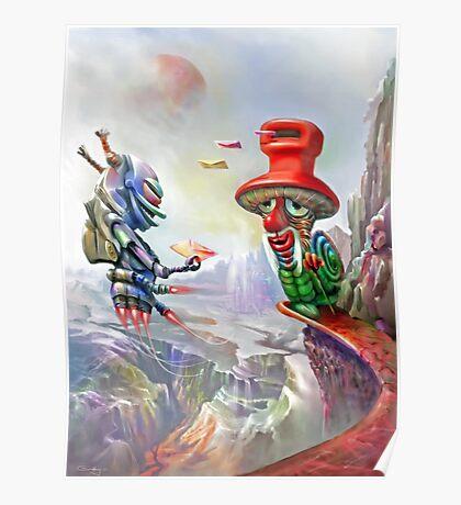 Snailmail Poster