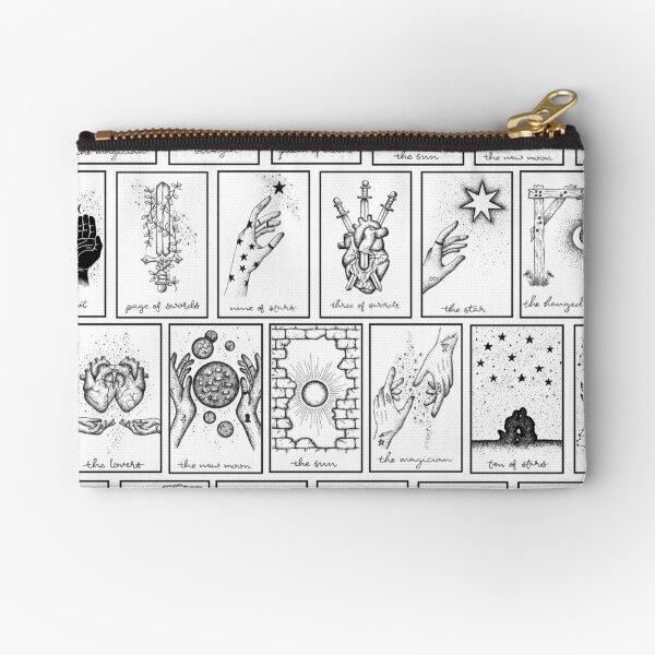 Tarot Cards Zipper Pouch