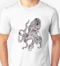 Der Oktopus Slim Fit T-Shirt