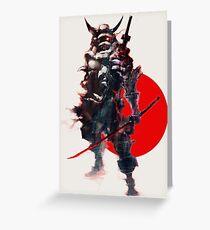 Samurai IV Bishamon Greeting Card
