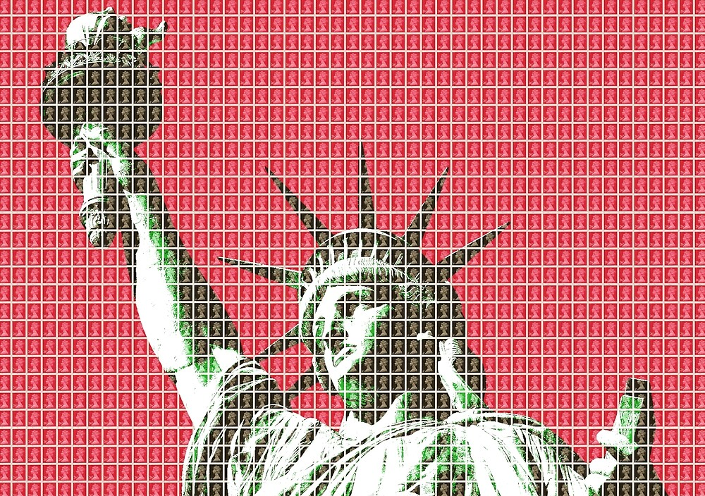 Liberty - Red by Gary Hogben