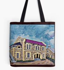 A 1969 Jamaican Painting Tote Bag