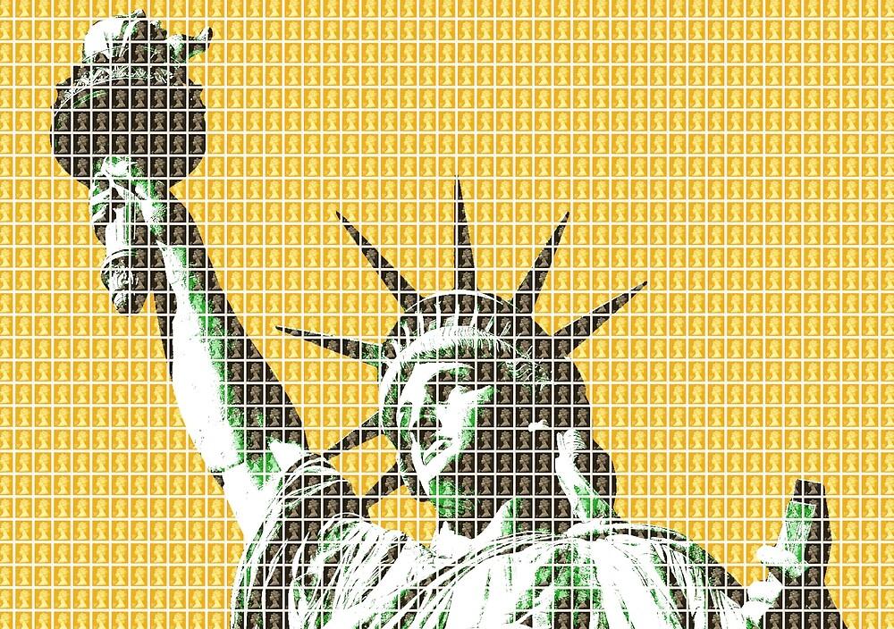 Liberty - Yellow by Gary Hogben