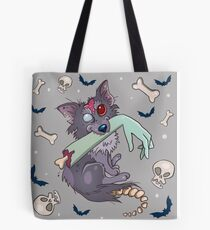 Rufus zombie dog Tote Bag
