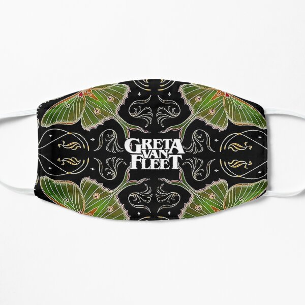 music greta van metal fleet  n roll band live greta van fleet nu metal logo greta van fleet  Flat Mask