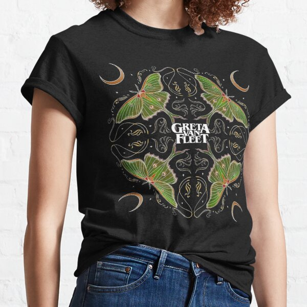music greta van metal fleet  n roll band live greta van fleet nu metal logo greta van fleet  Classic T-Shirt