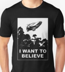 I believe in Delorean Unisex T-Shirt