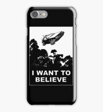 I believe in Delorean iPhone Case/Skin