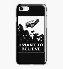 I believe in Delorean iPhone Case/Skin