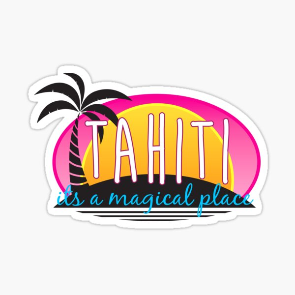 Tahiti Sticker
