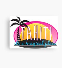 Tahiti Metalldruck