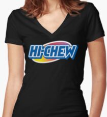 Hi-Chew Love Women's Fitted V-Neck T-Shirt