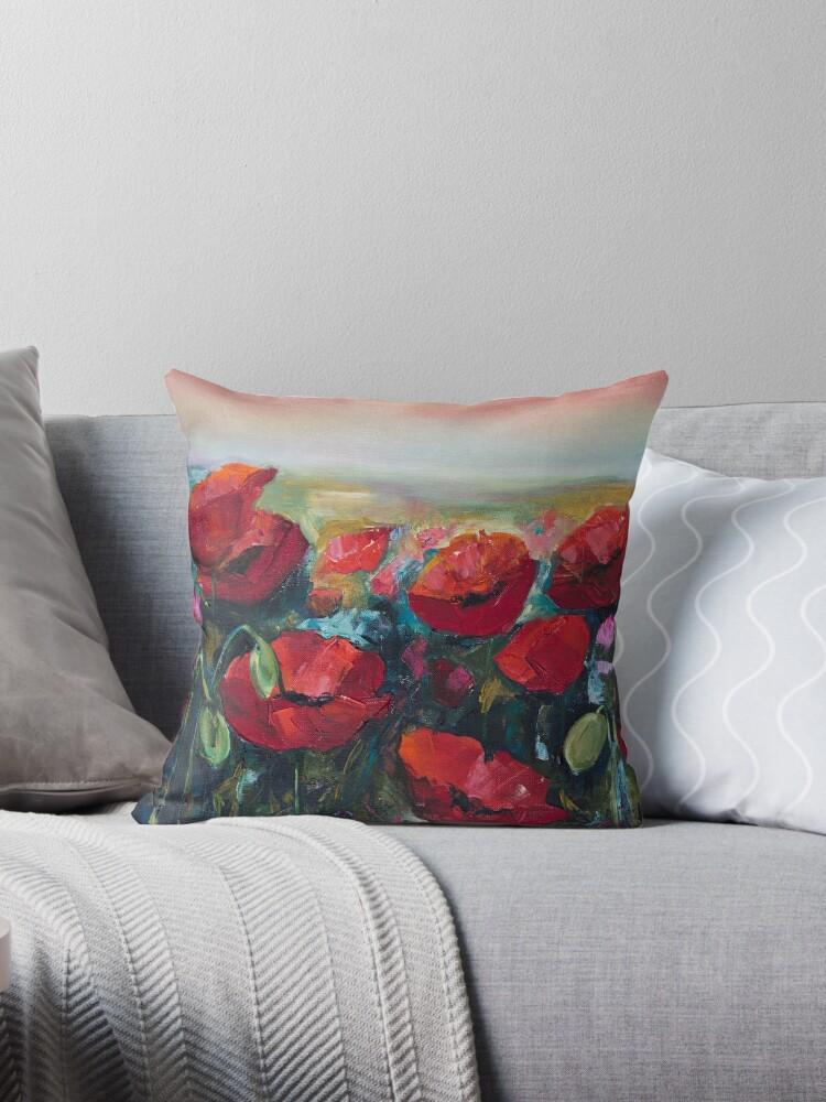 Poppies by Yana Art