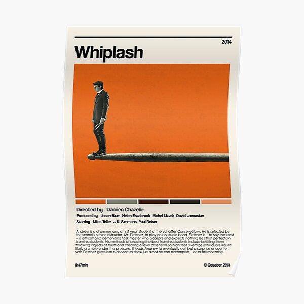 Whiplash (2014) minimalist movie Poster