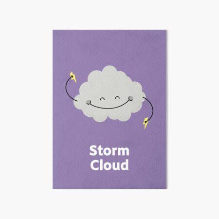 Storm cloud Art Board Print