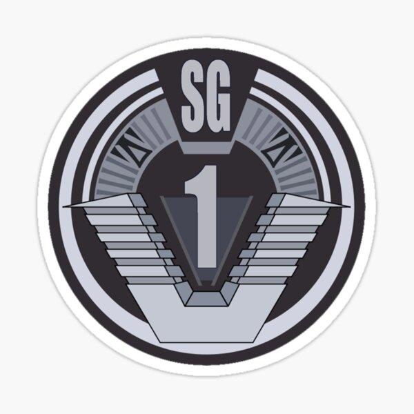 Badge Stargate SG-1 Sticker