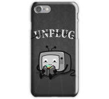 Unplug iPhone Case/Skin