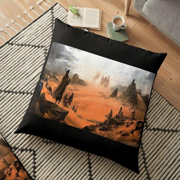 dune sand Floor Pillow