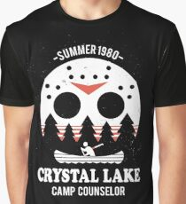 Crystal Lake Camp Counselor Graphic T-Shirt