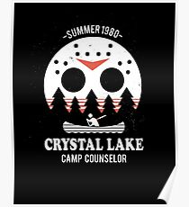 Crystal Lake Camp Counselor Poster