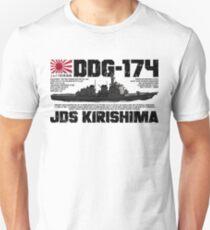 JDS Kirishima (DDG-174) Unisex T-Shirt