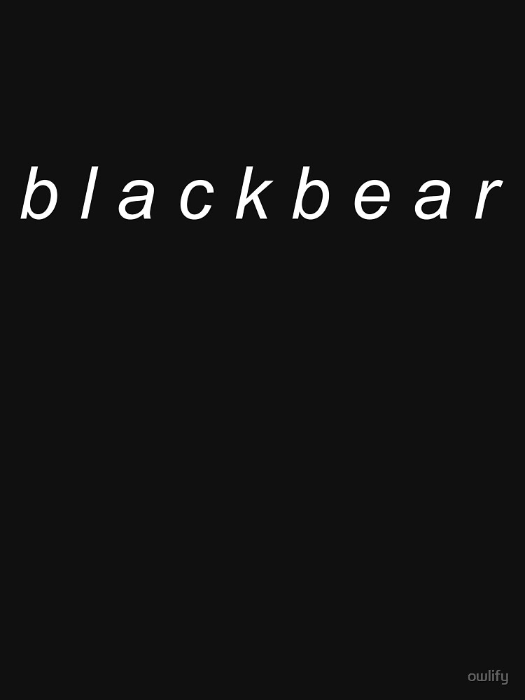 Blackbear (white) | Unisex T-Shirt