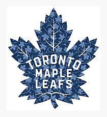 Toronto #soft Leafs Photographic Print