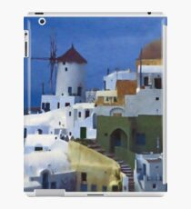 symphony in white and blue iPad Case/Skin