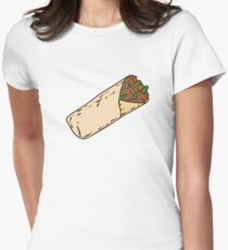 Burrito Women's Fitted T-Shirt