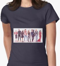 Throne of Glass - Modern day Womens Fitted T-Shirt