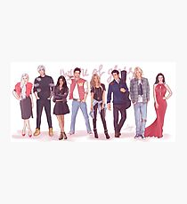 Throne of Glass - Modern day Photographic Print
