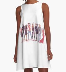 Throne of Glass - Modern day A-Line Dress