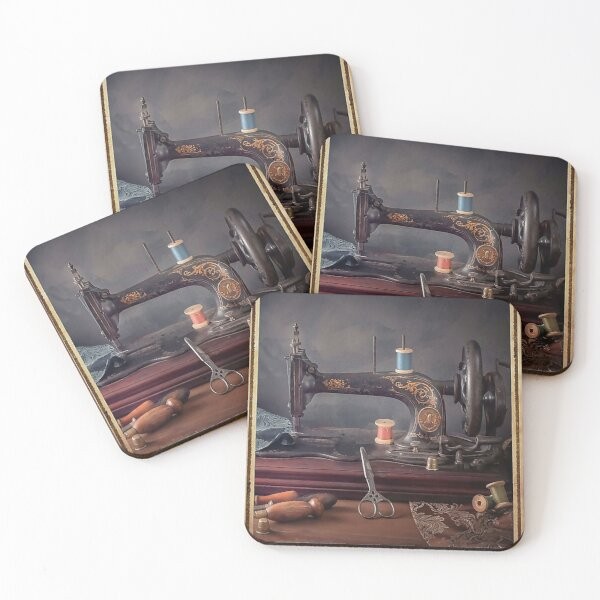 Sewing Forever housework whenever Coasters (Set of 4)