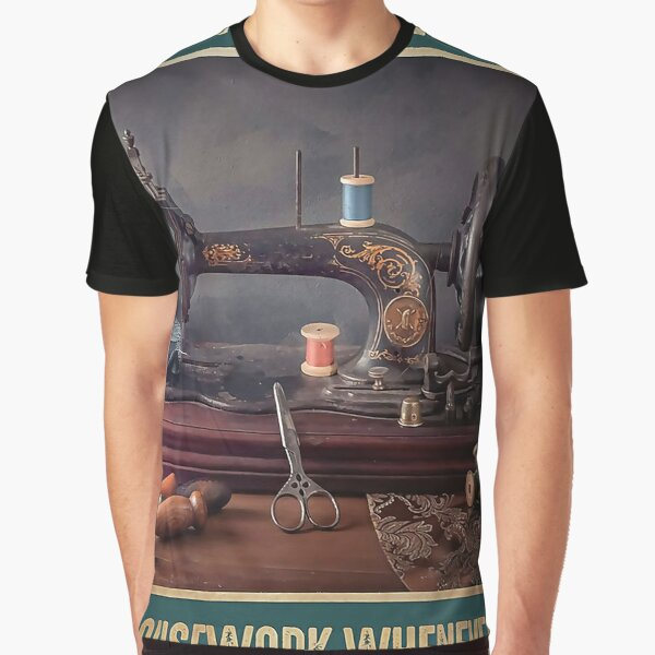 Sewing Forever housework whenever Graphic T-Shirt