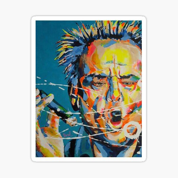 Jack Nicholson Artpainting Sticker
