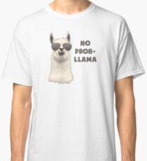 No Problem Llama Classic T-Shirt