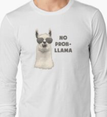 No Problem Llama Long Sleeve T-Shirt
