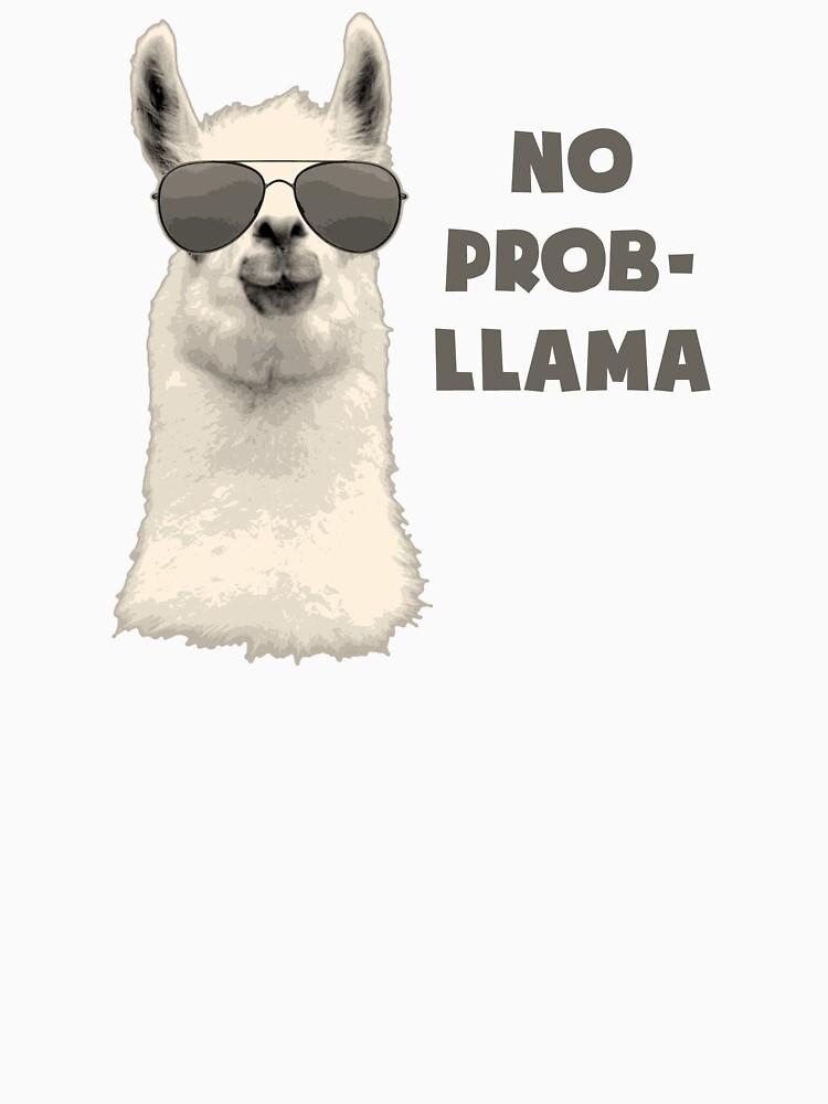 No Problem Llama | Unisex T-Shirt